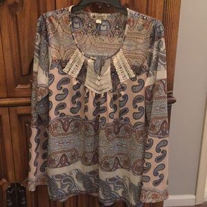 Beautiful paisley shirt